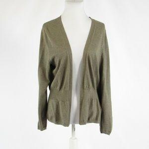 Cool brown GAP cardigan sweater L